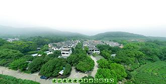 龙井高空飞机摄影